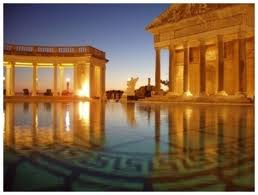 Citizen kane at the hearst castle was the screening on - Hearst castle neptune pool swim auction ...