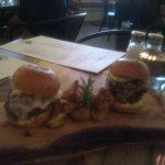 Try the T-Bone Sliders with truffles
