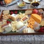 The Wisconsin Cheesemen provided this delectable sampling. Master Cheesemaker, Bruce Workman and Jeff Widemen provided their custom crafted, handmade cheeses which have all received the highest honors and awards