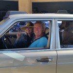 Nancy and Jim Sherlock Mercedes in route to Vegas