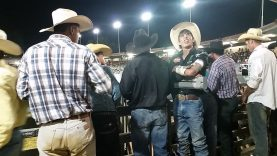 Mauney looks to wife